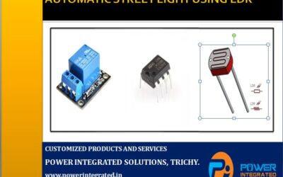 AUTOMATIC STREETLIGHT USING LDR (LIGHT DEPENDENT RESISTOR)